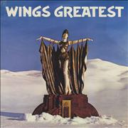 Paul McCartney and Wings Wings Greatest + Poster USA vinyl LP