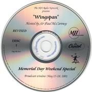 Paul McCartney and Wings Wingspan - Memorial Day Weekend Special USA CD-R acetate