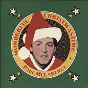 Click here for more info about 'Paul McCartney and Wings - Wonderful Christmastime - P/S'