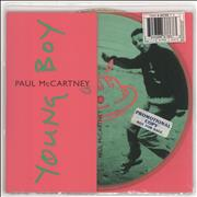 Click here for more info about 'Paul McCartney and Wings - Young Boy - Promo Stickered'