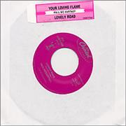"""Paul McCartney and Wings Your Loving Flame USA 7"""" vinyl Promo"""