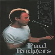 Click here for more info about 'Paul Rodgers - Now - The Tour Song Book + Ticket Stub'