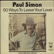 Click here for more info about 'Paul Simon - 50 Ways To Leave Your Lover'
