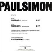 Click here for more info about 'Paul Simon - Allergies'