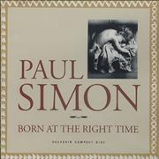 Click here for more info about 'Paul Simon - Born At The Right Time'