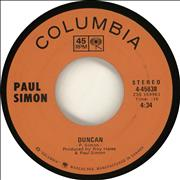 Click here for more info about 'Paul Simon - Duncan'