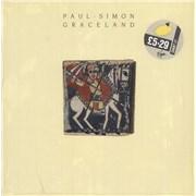 Paul Simon Graceland - shrink UK vinyl LP