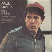 Click here for more info about 'Paul Simon - Late In The Evening'
