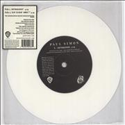 Click here for more info about 'Paul Simon - Outrageous - White Vinyl'