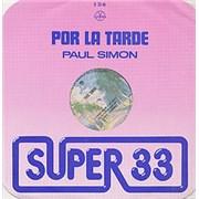 Click here for more info about 'Paul Simon - Por La Tarde'