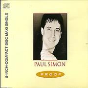 Click here for more info about 'Paul Simon - Proof'