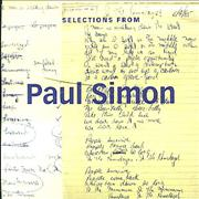 Click here for more info about 'Paul Simon - Selections From Paul Simon: The Studio Recordings 1972-2000'
