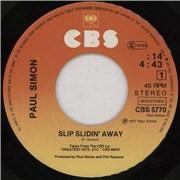 Click here for more info about 'Paul Simon - Slip Slidin' Away'