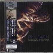 Click here for more info about 'Paul Simon - So Beautiful Or So What'