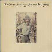 Paul Simon Still Crazy After All These Years UK vinyl LP