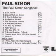 Click here for more info about 'Paul Simon - The Paul Simon Songbook'