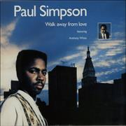 Click here for more info about 'Paul Simpson - Walk Away From Love'
