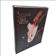 Paul Weller A Thousand Things - Collectors Edition UK book
