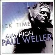 Paul Weller Aim High UK CD single Promo