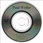 "Paul Weller All The Pictures On The Wall Japan 3"" CD single Promo"