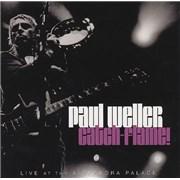 Paul Weller Catch-Flame! Live At The Alexandra Palace UK 2-CD album set Promo