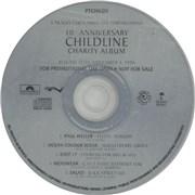 Paul Weller Childline Sampler UK CD single Promo