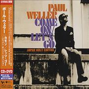 Paul Weller Come On/Let's Go Japan 2-disc CD/DVD set Promo