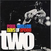 Paul Weller Days Of Speed - Two UK CD single Promo