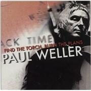 "Paul Weller Find The Torch, Burn The Plans UK 7"" vinyl"