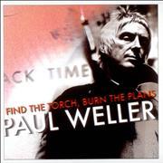 Paul Weller Find The Torch, Burn The Plans UK CD single Promo