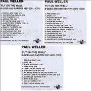 Click here for more info about 'Paul Weller - Fly On The Wall - 3-CD-R set'