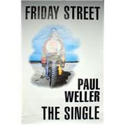 Paul Weller Friday Street UK poster Promo