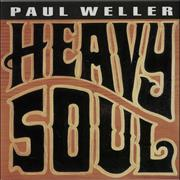 Paul Weller Heavy Soul Japan handbill Promo