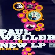 Click here for more info about 'Paul Weller - Heliocentric - Promotional Instore Poster'
