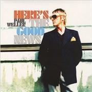 """Paul Weller Here's The Good News UK 7"""" vinyl"""