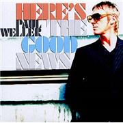 Paul Weller Here's The Good News UK CD single Promo