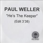 Click here for more info about 'Paul Weller - He's The Keeper - Edit Version'