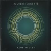 Click here for more info about 'Paul Weller - I'm Where I Should Be - Sealed'