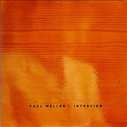 Paul Weller Interview - Card P/s UK CD album Promo