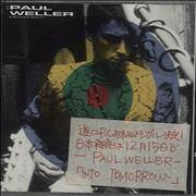 Click here for more info about 'Paul Weller - Into Tomorrow - Japanese stickered case'