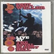 Paul Weller Live At The Royal Albert Hall UK DVD