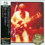 Paul Weller Live Wood Japan SHM CD