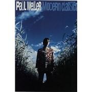 Paul Weller Modern Classics Japan handbill Promo