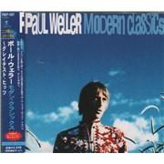 Paul Weller Modern Classics Japan CD album Promo