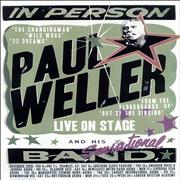 Paul Weller In Person - November 2008 UK Tour Poster UK poster