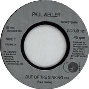 "Paul Weller Out Of The Sinking UK 7"" vinyl"