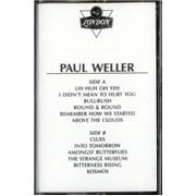 Paul Weller Paul Weller USA cassette album Promo