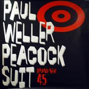 Paul Weller Peacock Suit UK poster Promo