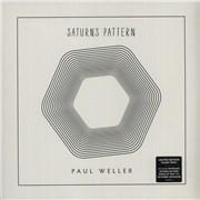 Paul Weller Saturns Pattern - 180gram Clear Vinyl - Sealed UK vinyl LP