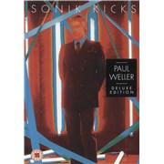 Paul Weller Sonik Kicks - Deluxe Hardback Book Edition UK 2-disc CD/DVD set